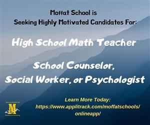 Math and counselor position